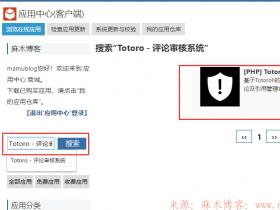 ZBlog插件推荐-Totoro - 评论审核系统